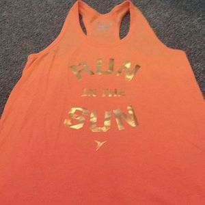 Old navy active tank top girls size 10/12